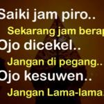Translate Indonesia ke Jawa