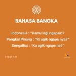 Translate Bahasa Bangka ke Indonesia
