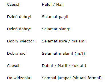 Translate Bahasa Polandia