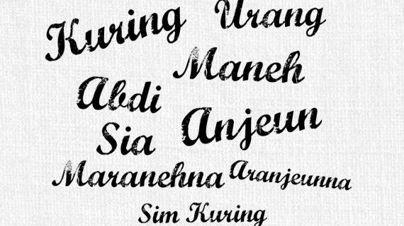 Translate Daerah Sunda
