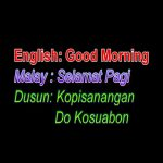 Translate Bahasa Dusun